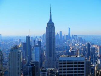 ニューヨーク 元日 - トップオブザロックからの眺め