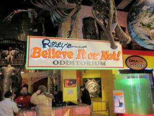 ニューヨーク リップリーのBelieve it or Not!博物館