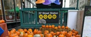 ニューヨークのハロウィーン