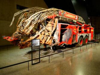 ニューヨーク 911博物館 消防車