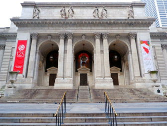ニューヨーク 建築ツアー - 公共図書館