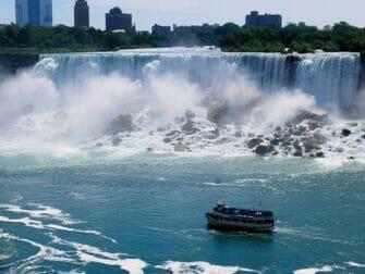ニューヨーク 発 ナイアガラの滝 1泊2日 ツアー クルーズ
