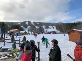 ニューヨーク発 スキー スノーボード 日帰りツアー - ハンターマウンテン