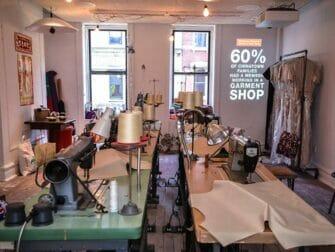 ニューヨーク テネメント博物館 - 中国人の縫製工場