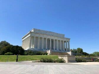 ワシントンDC バスツアー リンカーン記念堂