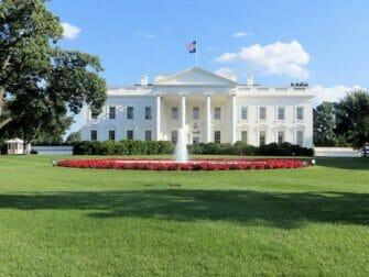 ワシントンDC日帰りツアー ホワイトハウス