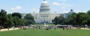ワシントンDC日帰りツアー 議事堂