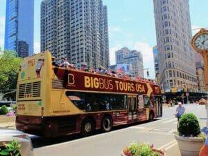 ニューヨーク ホップオンホップオフ バス