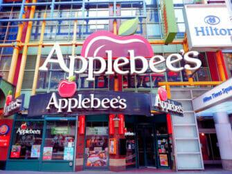 ニューヨークで子連れでお食事 - アップルビーズ