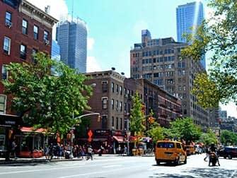 ニューヨークのヘルズキッチン 9番街