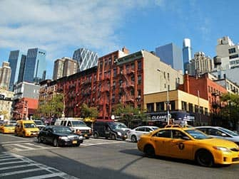 ニューヨークのヘルズキッチン 9番街52丁目