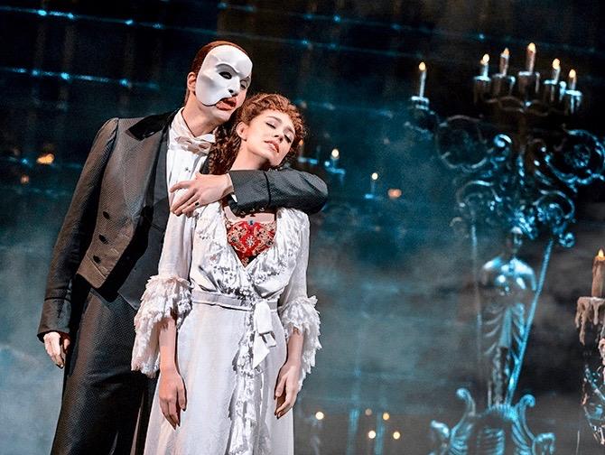 ブロードウェイ オペラ座の怪人 チケット - ファントムとクリスティーヌ