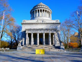 ニューヨークのベテランズデー グラント将軍の墓