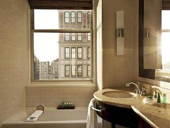NYCのロマンチックなホテル Wホテルユニオンスクエア