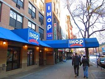 ニューヨークで食べる典型的アメリカンフード IHOP