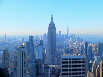 ニューヨーク バスツアーと観光名所パッケージ - エンパイアステートビル