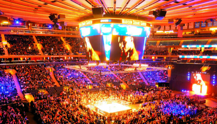 Madison Square Garden in NYC Interior