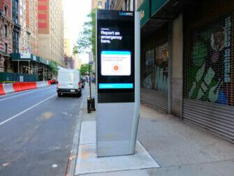 ニューヨーク 無料 WiFi - 地下鉄駅でのWiFi