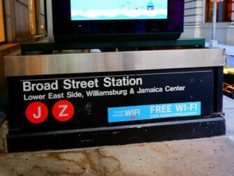 ニューヨーク 無料 WiFi - フィフスアベニュー駅でのWiFi