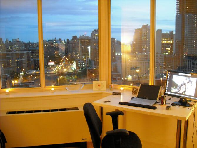 ニューヨーク 仕事と生活 眺めの良いアパートメント