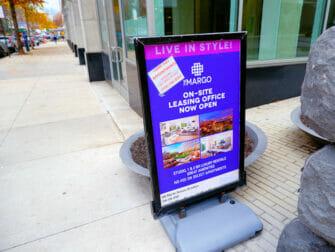 ニューヨーク 仕事と生活 - 入居者募集の広告