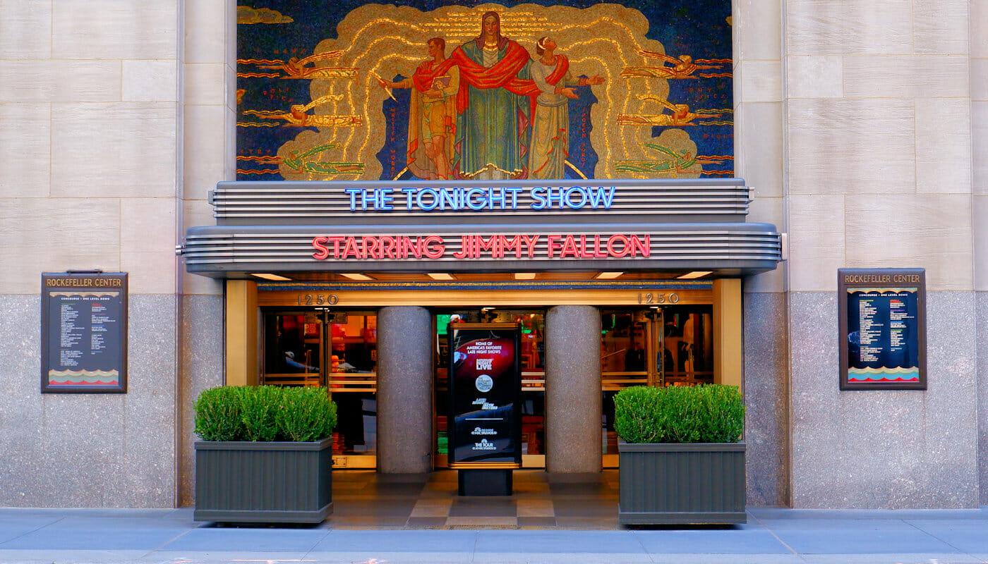 ニューヨーク TVショー トゥナイト・ショー