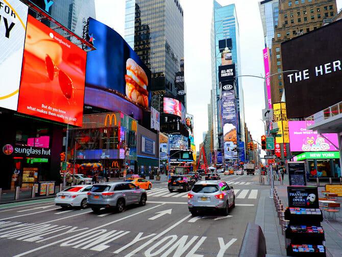ニューヨーク グリー ツアー