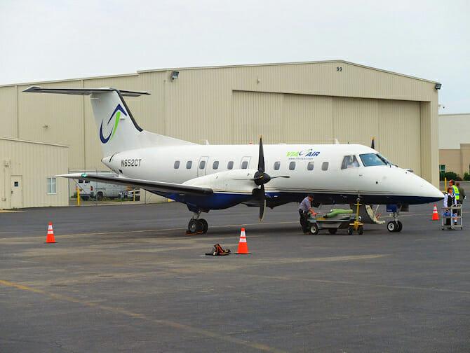 ナイアガラの滝 チャーター機利用 日帰りツアー チャーター機