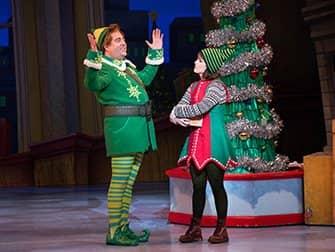 エルフ クリスマス ミュージカル チケット - 説明するバディー