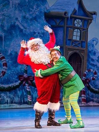 エルフ クリスマス ミュージカル チケット - バディとサンタ