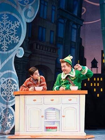 エルフ クリスマス ミュージカル チケット - ディナー
