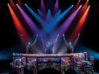 ニューヨーク ブルーマングループ チケット - ドラム