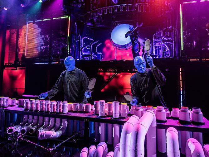 ニューヨーク ブルーマングループ チケット - オンステージ