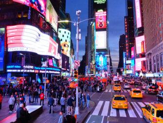 ニューヨーク グレイライン ホップオンホップオフバス - ナイトツアー