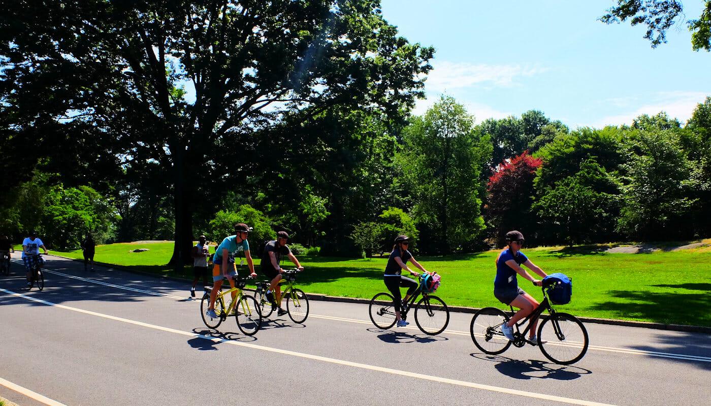 ニューヨーク サイクリング
