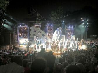 ニューヨーク シェイクスピア イン ザ パーク - 劇の最後