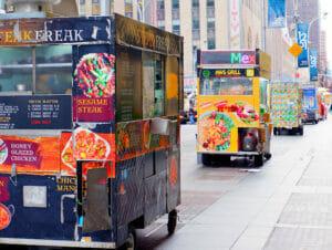 ニューヨーク ストリートフード