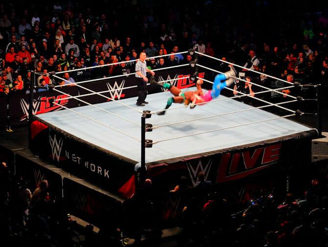 ニューヨーク WWE レスリング チケット