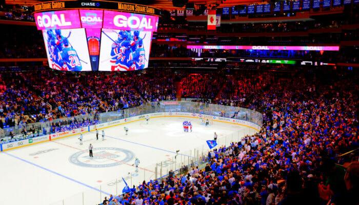 ニュヨーク NHL アイスホッケー
