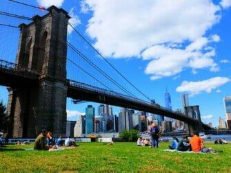 ニューヨーク 絶景 スポット - ブルックリンブリッジパーク