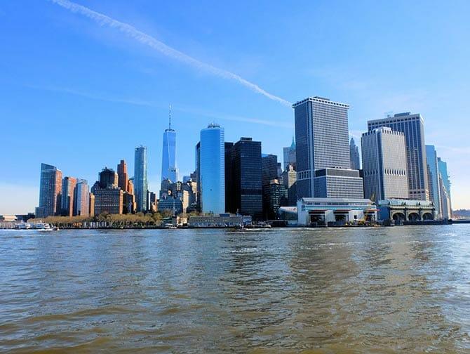 ニューヨーク 絶景 スポット - スタテンアイランドフェリー