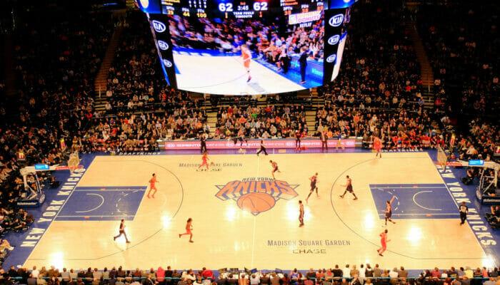 ニューヨーク NBA バスケットボール