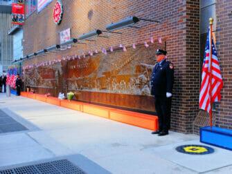ニューヨーク 911 - メモリアルウォール