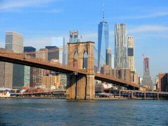 エクスプローラパスとニューヨークパスの違い - ブルックリンブリッジ