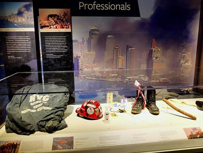 ニューヨーク 911 トリビュート博物館 - 遺物