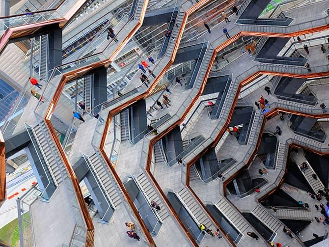ニューヨーク ハドソンヤード ベッセル - ベッセルの構造