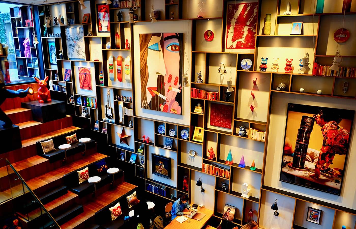 シティズンM ニューヨーク バワリー ホテル - アート