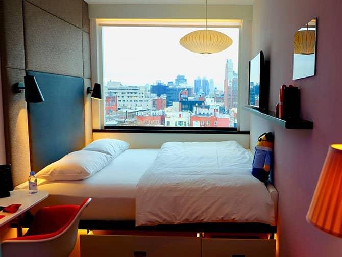 シティズンM ニューヨーク バワリー ホテル - 客室