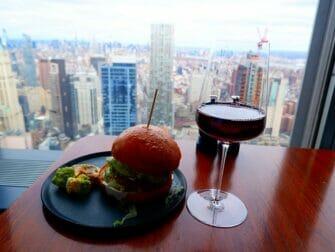 ニューヨークのレストラン - マンハッタでのドリンク