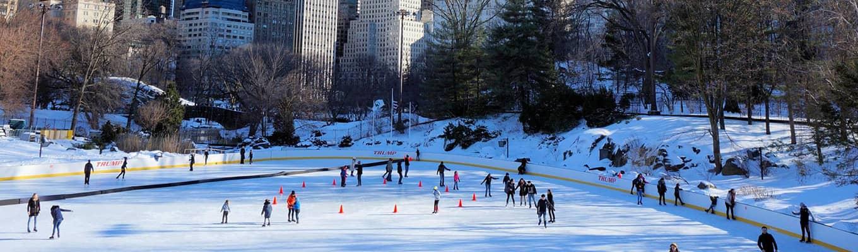 ニューヨークでスケート